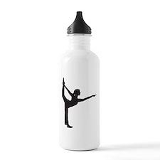 Bikram Yoga Bow Pose Sports Water Bottle
