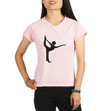 Bikram Yoga Bow Pose Performance Dry T-Shirt