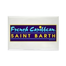 St. Barth Rectangle Magnet