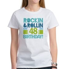 48th Birthday Rock and Roll Tee