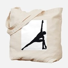 Bikram Yoga Triangle Pose Tote Bag