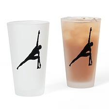 Bikram Yoga Triangle Pose Drinking Glass