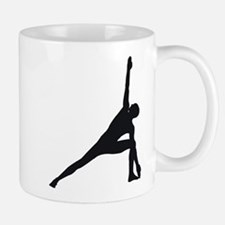 Bikram Yoga Triangle Pose Mug