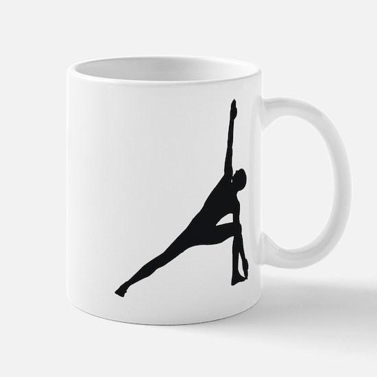 Bikram Yoga Triangle Pose Mug