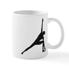 Bikram Yoga Triangle Pose Small Mug
