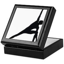 Bikram Yoga Triangle Pose Keepsake Box