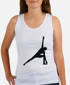 Bikram Yoga Triangle Pose Women's Tank Top