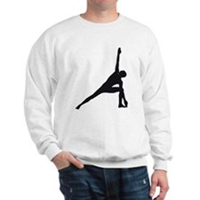 Bikram Yoga Triangle Pose Sweatshirt