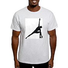 Bikram Yoga Triangle Pose T-Shirt