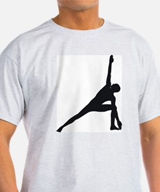 Bikram Yoga Triangle Pose T-Shirt