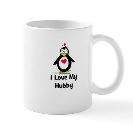 I Love My Hubby Mugs