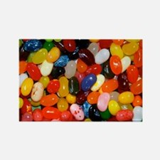 Jelly Beans! Rectangle Magnet