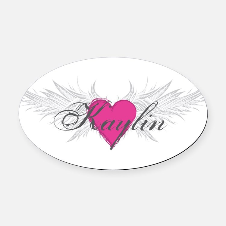 My Sweet Angel Kaylin Oval Car Magnet
