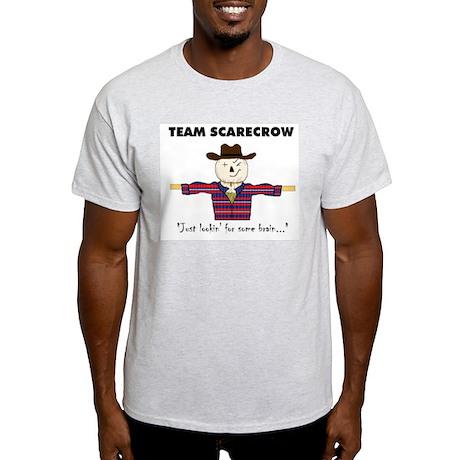 TEAM SCARECROW W/ LOGO Ash Grey T-Shirt