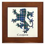 Lion - Cooper Framed Tile