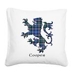 Lion - Cooper Square Canvas Pillow