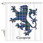 Lion - Cooper Shower Curtain