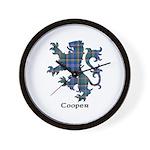 Lion - Cooper Wall Clock
