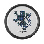 Lion - Cooper Large Wall Clock