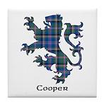 Lion - Cooper Tile Coaster