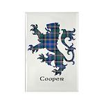 Lion - Cooper Rectangle Magnet (100 pack)
