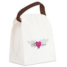 My Sweet Angel Kaydence Canvas Lunch Bag