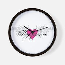 My Sweet Angel Kaydence Wall Clock