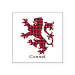 Lion - Connel Square Sticker 3
