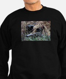 Reach out and touch someone! Sweatshirt (dark)