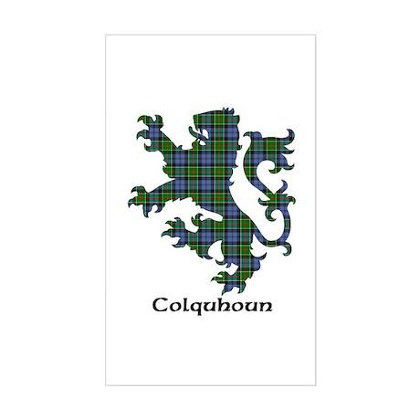 Lion - Colquhoun Sticker (Rectangle)