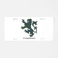 Lion - Colquhoun Aluminum License Plate