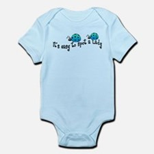 It's Easy to Spot a Lady Infant Bodysuit