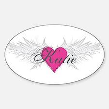 My Sweet Angel Katie Sticker (Oval)