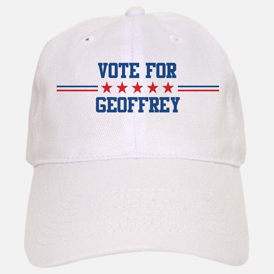 Vote for GEOFFREY Baseball Baseball Cap