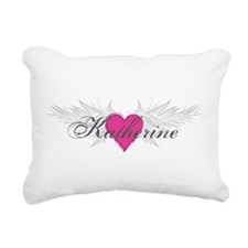 My Sweet Angel Katherine Rectangular Canvas Pillow