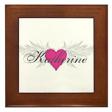 My Sweet Angel Katherine Framed Tile