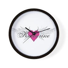 My Sweet Angel Katherine Wall Clock