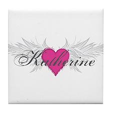 My Sweet Angel Katherine Tile Coaster