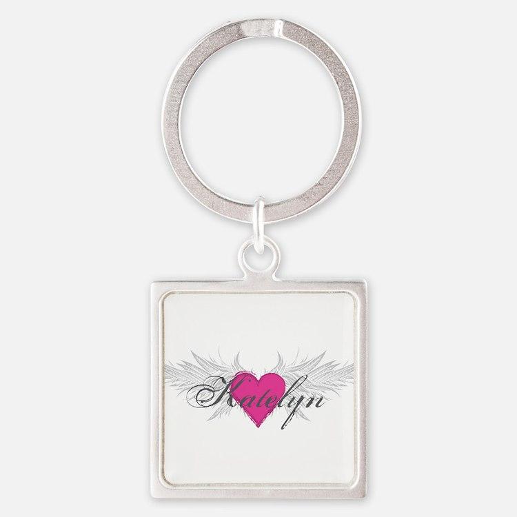 My Sweet Angel Katelyn Square Keychain