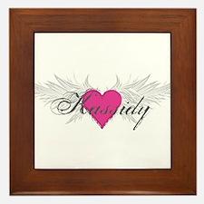 My Sweet Angel Kassidy Framed Tile