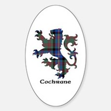Lion - Cochrane Sticker (Oval)