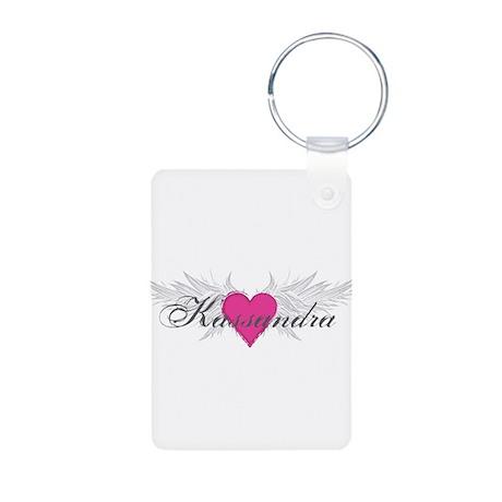 My Sweet Angel Kassandra Aluminum Photo Keychain