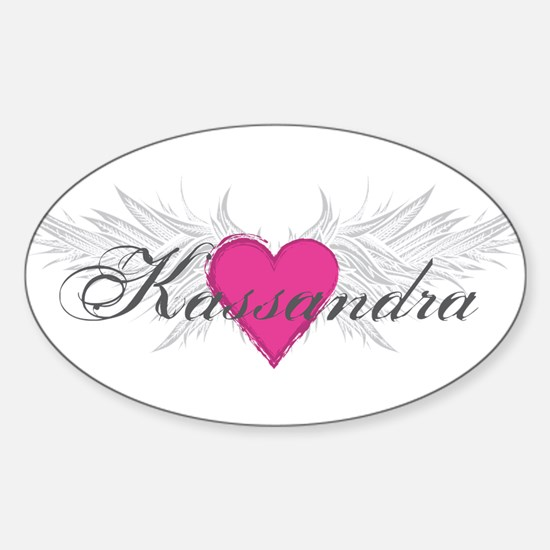 My Sweet Angel Kassandra Sticker (Oval)