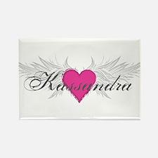 My Sweet Angel Kassandra Rectangle Magnet