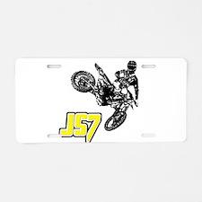 JS7bike Aluminum License Plate