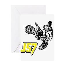 JS7bike Greeting Card