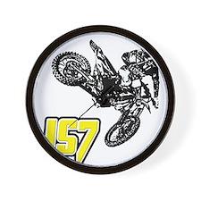 JS7bike Wall Clock