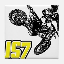 JS7bike Tile Coaster