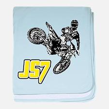 JS7bike baby blanket