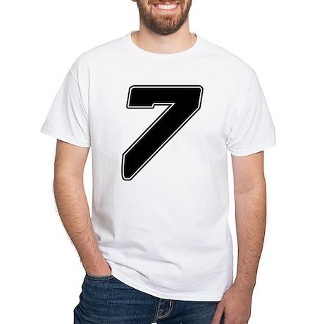 js7 White T-Shirt